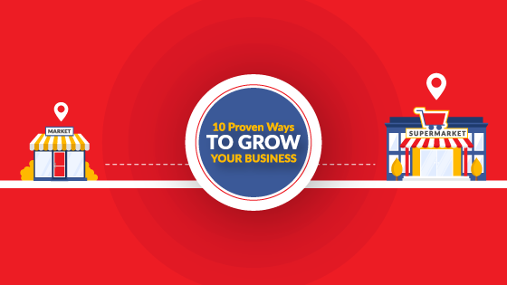 10 proven ways to grow business blog graphic for ability seo