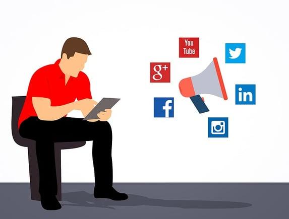 Social media marketing blog graphic for Ability SEO